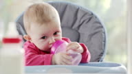 Baby Drinking video