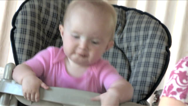 Baby Eating video