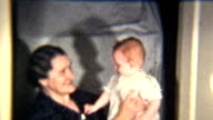 Baby Girl With Grandmother (1939 Vintage 8mm) video