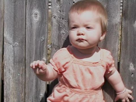 Baby in orange video