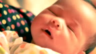 Baby is sleeping video