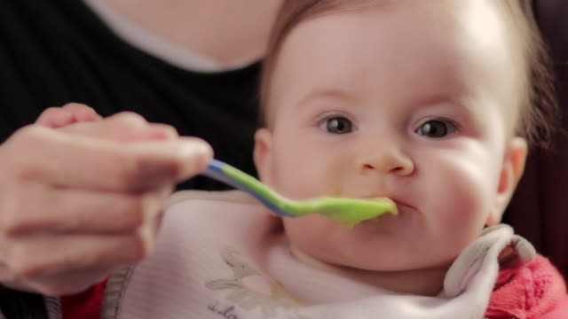 Baby Lunch Time video