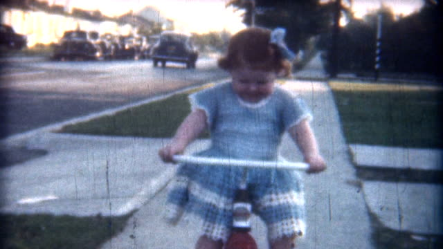 Baby Red Trycicle 1949 video