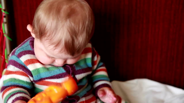 Baby shaking toy video