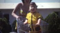 Baby Shopping Cart 1972 video