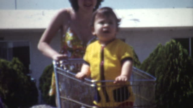 Baby Shopping Cart 1972 video