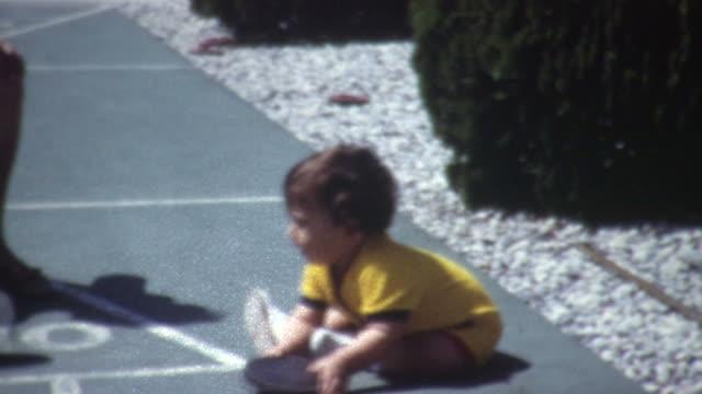 Baby Shuffleboard 1960's video
