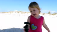 baby singing with tripod video