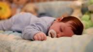 Baby sleeping video