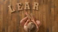baby Spells 'Learn' video