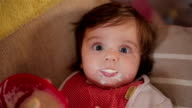 baby's first porridge video
