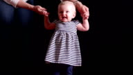 Baby's first steps video