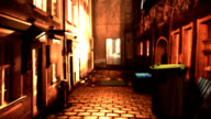 back alley video