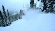 Back Country Skiing video