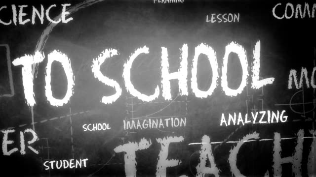 Back to school - Background (Loopable) video