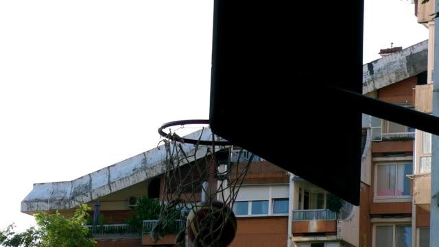 Backboard in shadow video