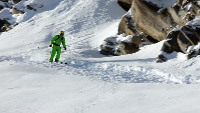 backflip ski jump video