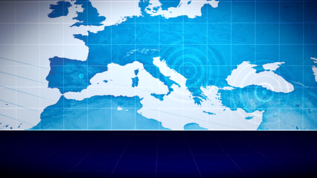 Background Earth Mediterranean - LOOP video