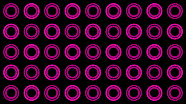 Background of pink circles and dots spinning video