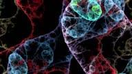 bacteria background render video