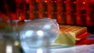 HD DOLLY: Bacteria Culture In A Petri Dish video
