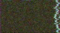 Bad Television TV Static Color video