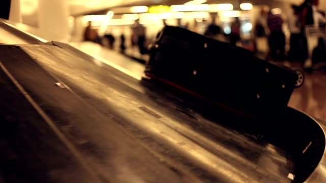 Baggage carousel -Time Lapse video