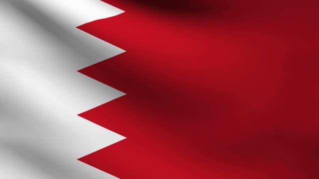 Bahrain flag. video
