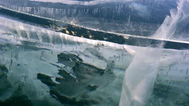 Baikal lake in Siberia video