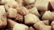 Baked bread crumbs video
