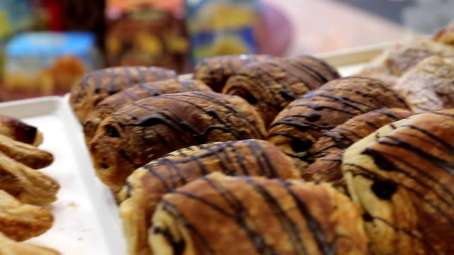 Bakery Fresh Baked Sweets On Display video