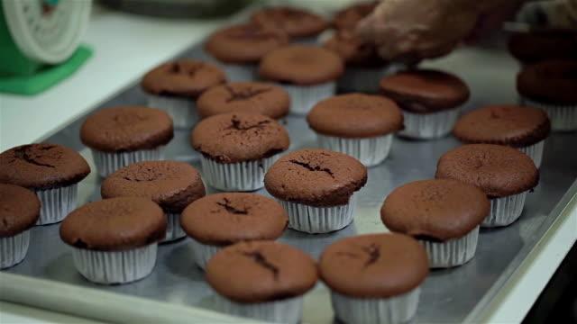 Baking Chocolate Cupcake video