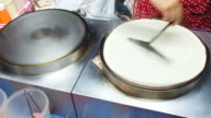 Baking crepe video