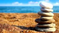 Balance stones (loopable) video