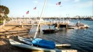 Balboa Island, Newport Beach, California Time Lapse video
