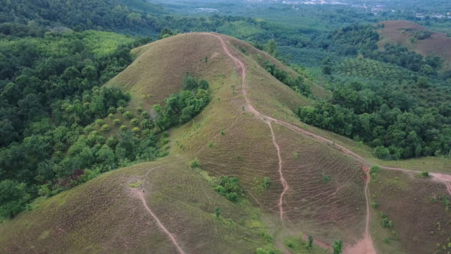 Bald mountain ,Grass Mountain, Grass Mountain is called Khao Hua Lon or Phu Khao Ya by the locals of Ranong Thailand. video