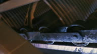 Ball bearings close up. video