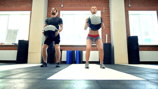 Ball Squat video