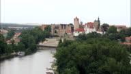 Ballenstedt Castle  - Aerial View - Saxony-Anhalt,  Germany video