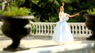 ballerina dancing in the alley video