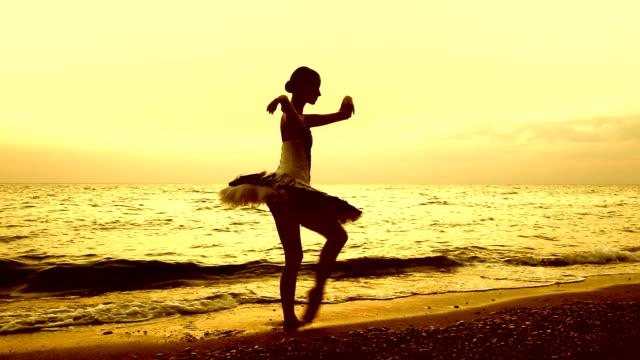 ballerina on the coast video