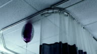 Ballon floating in hospital video