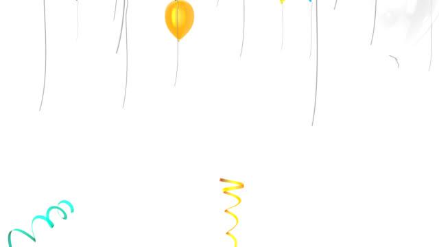Balloon transition video