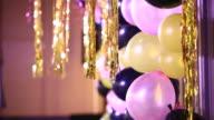 Balloon with bokeh video