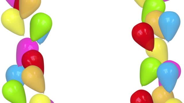 Balloons Loopable + Alpha video