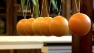 Balls on strings video