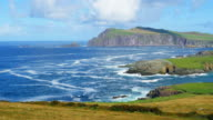 Ballyferriter Bay And Sybil Point As Seen From Clogher Head video