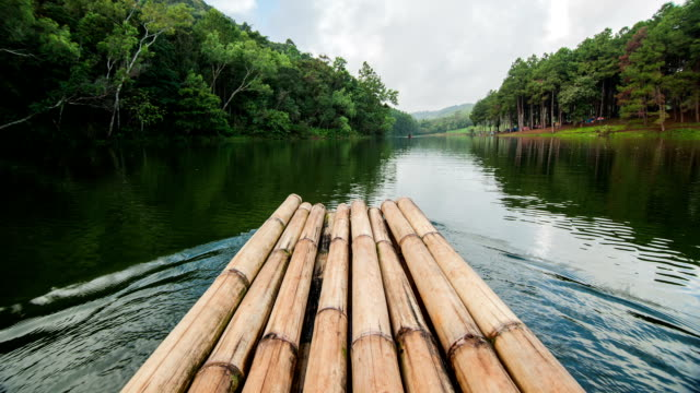 Bamboo Raft, Time Lapse video