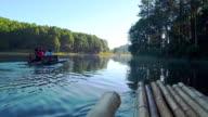 Bamboo Rafting at Pang oung video