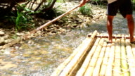 Bamboo rafting in Khao Lak video